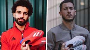 Mohamed Salah Adidas Eden Hazard Nike