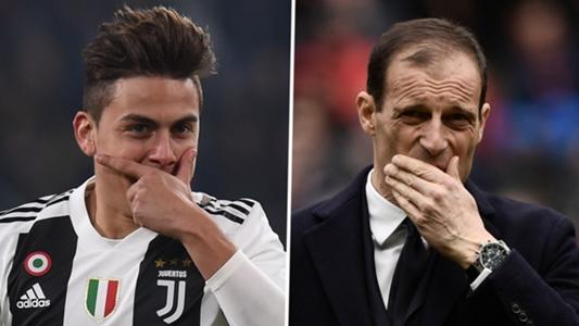 5ba812ac9ac Dybala   Douglas Costa set to benefit as Juventus begin search for Allegri  replacement