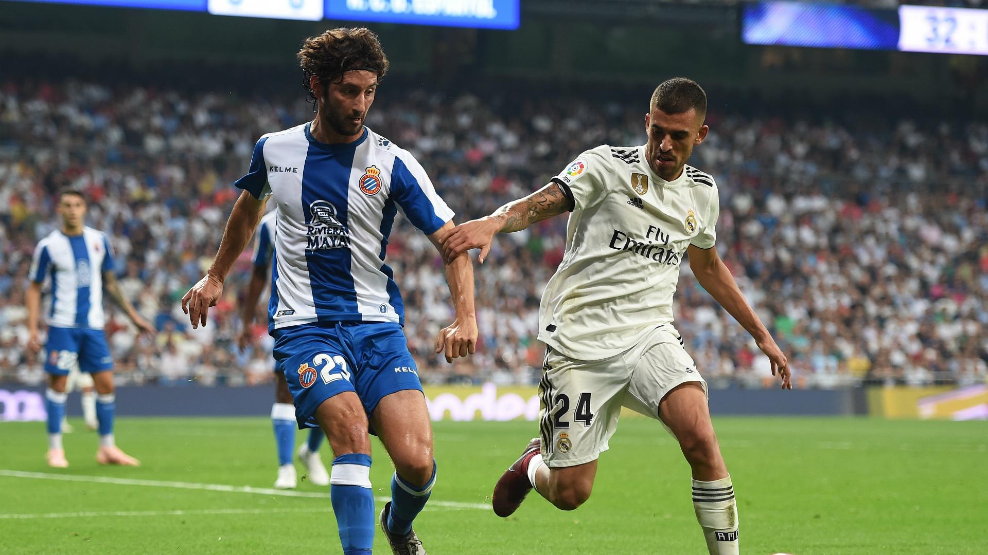 Esteban Granero Real Madrid Espanyol Liga