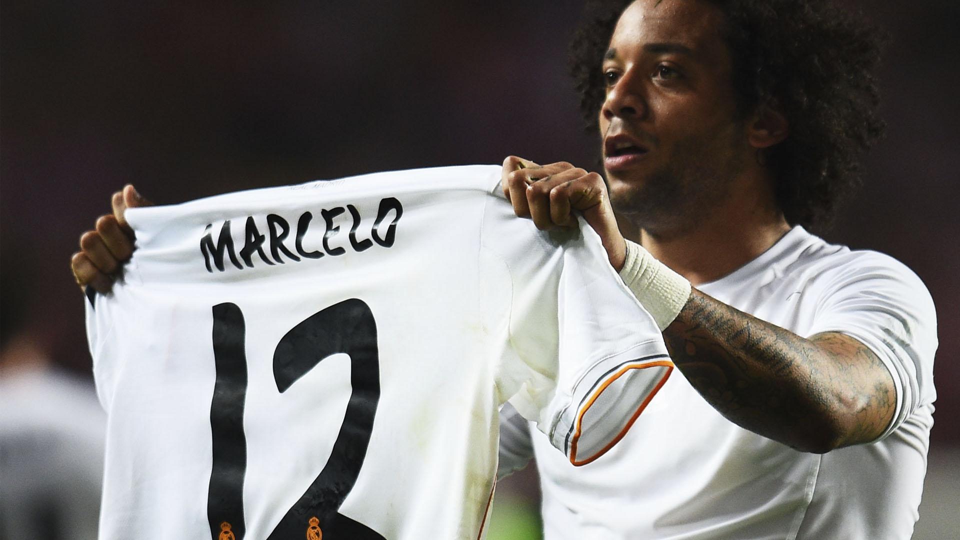 Marcelo Real Madrid x Atlético Madrid 24 05 14