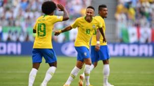 Willian, Neymar, Brazil, World Cup