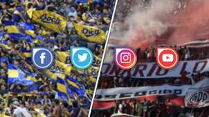 River Boca Superclasico redes sociales