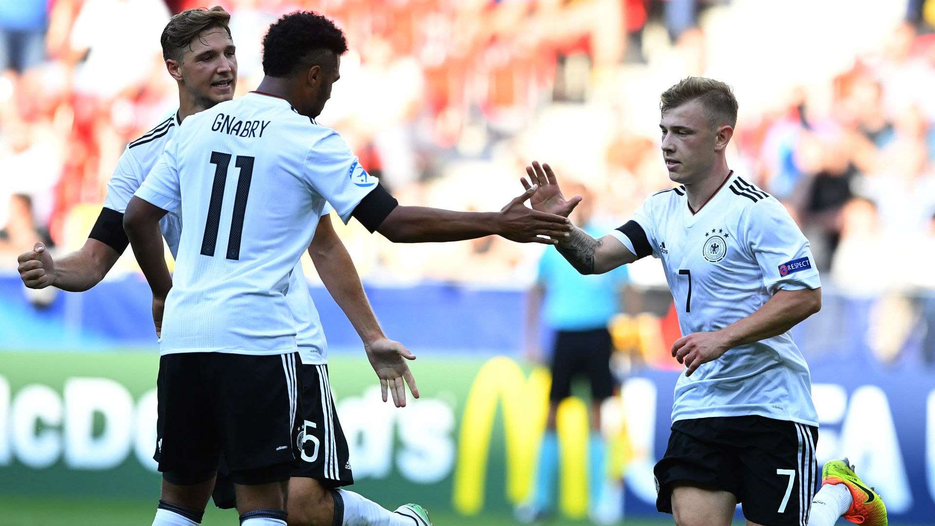 Max Meyer Serge Gnabry Germany U-21