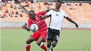 Meddie Kagere of Simba SC and Gor Mahia.