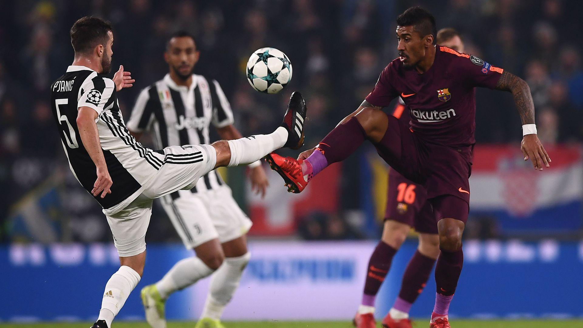 Miralem Pjanic Paulinho Juventus Barcelona