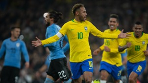 Neymar Brazil Uruguay Friendlies 16112018