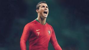 GFX Cristiano Ronaldo Portugal World Cup 2018 kit