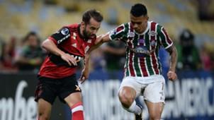 Everton Ribeiro Richard Fluminense Flamengo Brasileirao Serie A 25102017