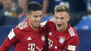 James Rodriguez Joshua Kimmich Bayern Munich 2018-19