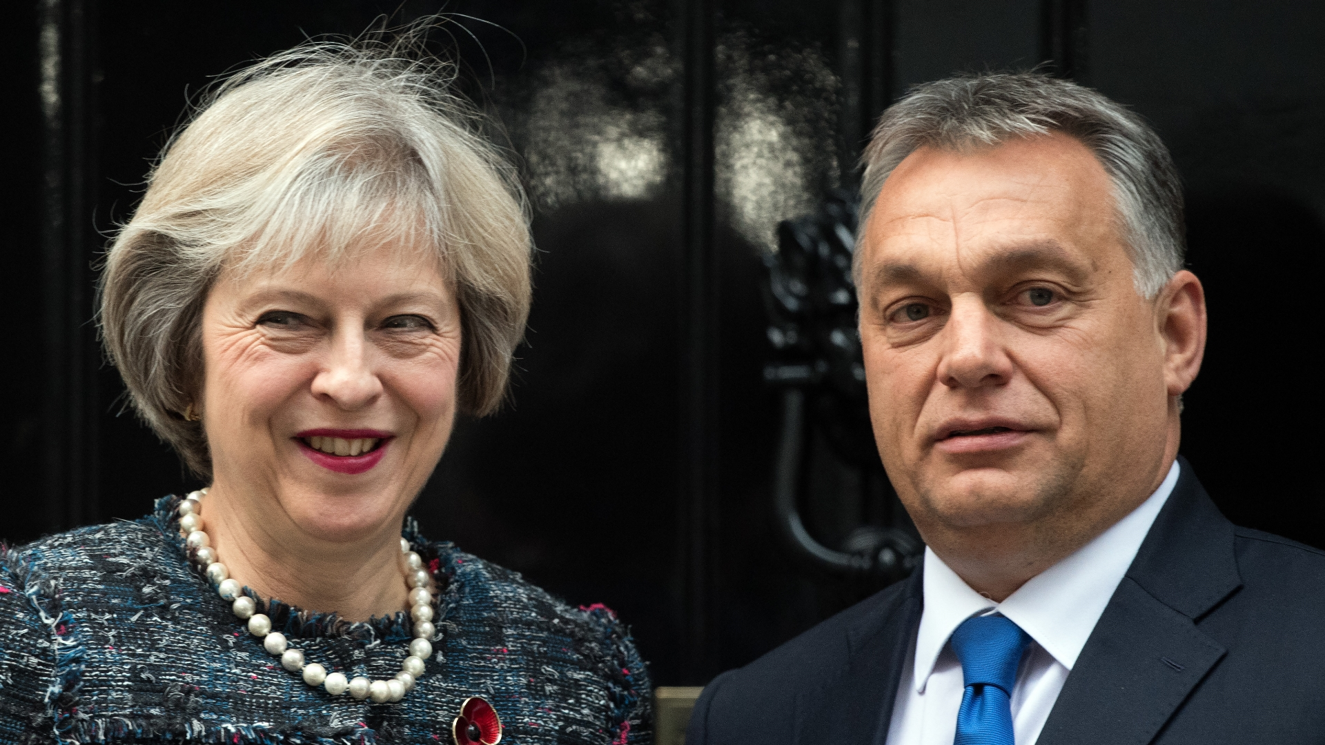Theresa May, Viktor Orban