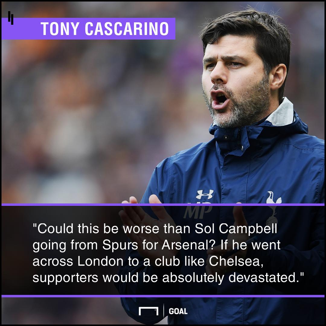 Mauricio Pochettino Tottenham to Chelsea worse than Sol Campbell