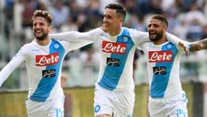 Mertens Callejon Insigne Torino Napoli Serie A