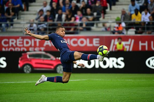 Kylian Mbappé Reims PSG