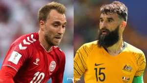 デンマーク対オーストラリア
