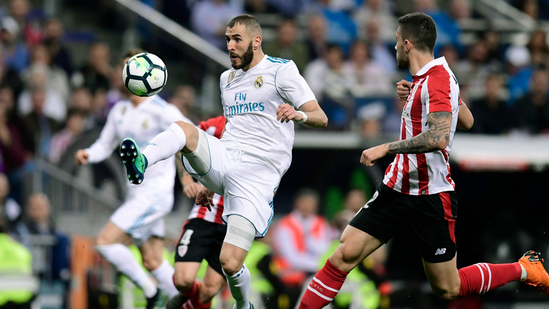 Real Madrid empató en casa ante el Athletic de Bilbao