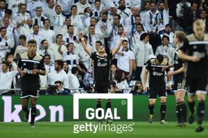 Ziyech Ajax vs Real Madrid