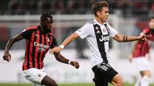 Bakayoko Dybala Milan Juventus