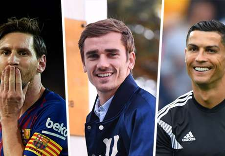 Griezmann appeals against Messi or Ronaldo Ballon d'Or win