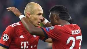 Arjen Robben, David Alaba, Bayern Munich