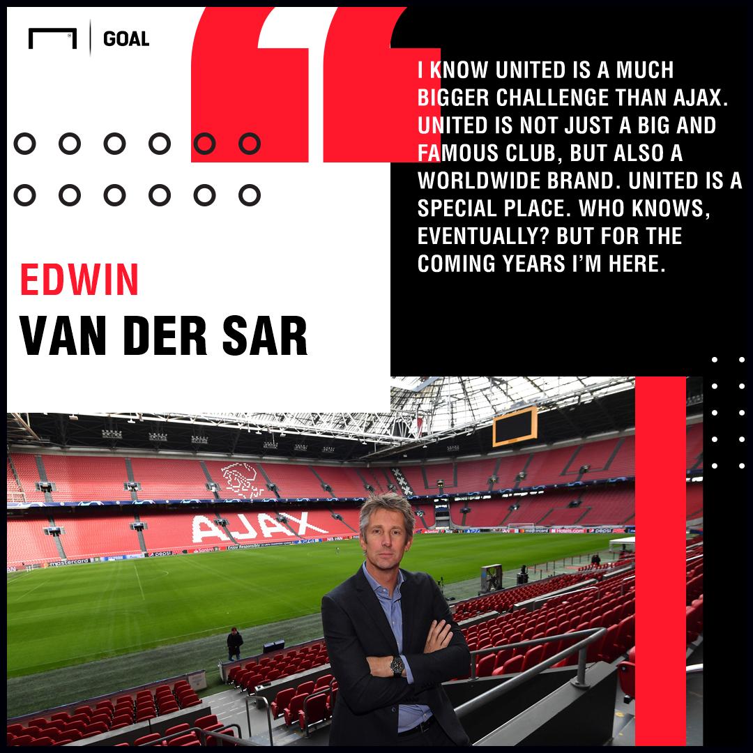 Edwin van der Sar Ajax Manchester United