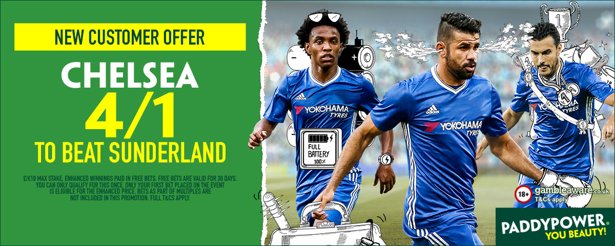 GFX Chelsea Sunderland enhanced betting