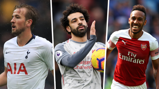 Premier League top scorers 2018-19: Salah, Aubameyang & Kane lead the race