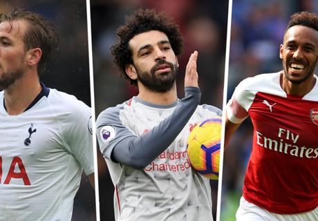 Premier League top scorers 2018-19