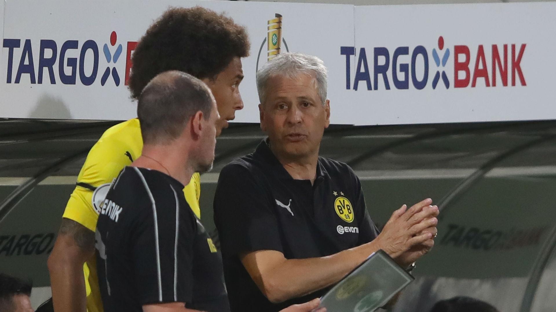 Lucien Favre Axel Witsel Borussia Dortmund
