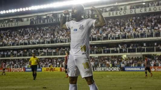 Gabigol Santos Estudiantes 24042018 Copa Libertadores