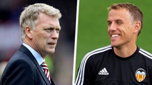 David Moyes Phil Neville Split