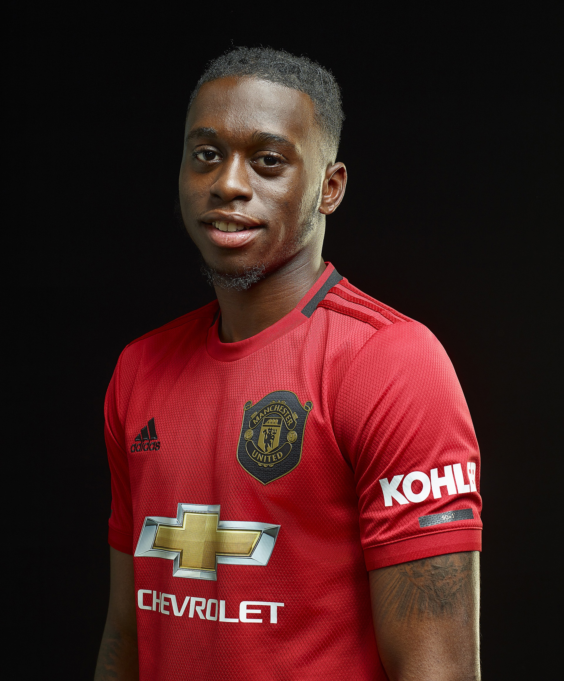 Embed only: Aaron Wan-Bissaka Manchester United