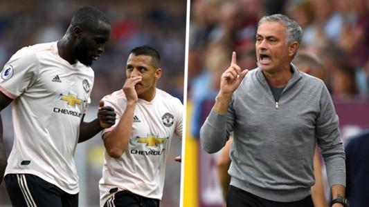 Romelu Lukaku Alexis Sanchez Jose Mourinho Manchester United Burnley