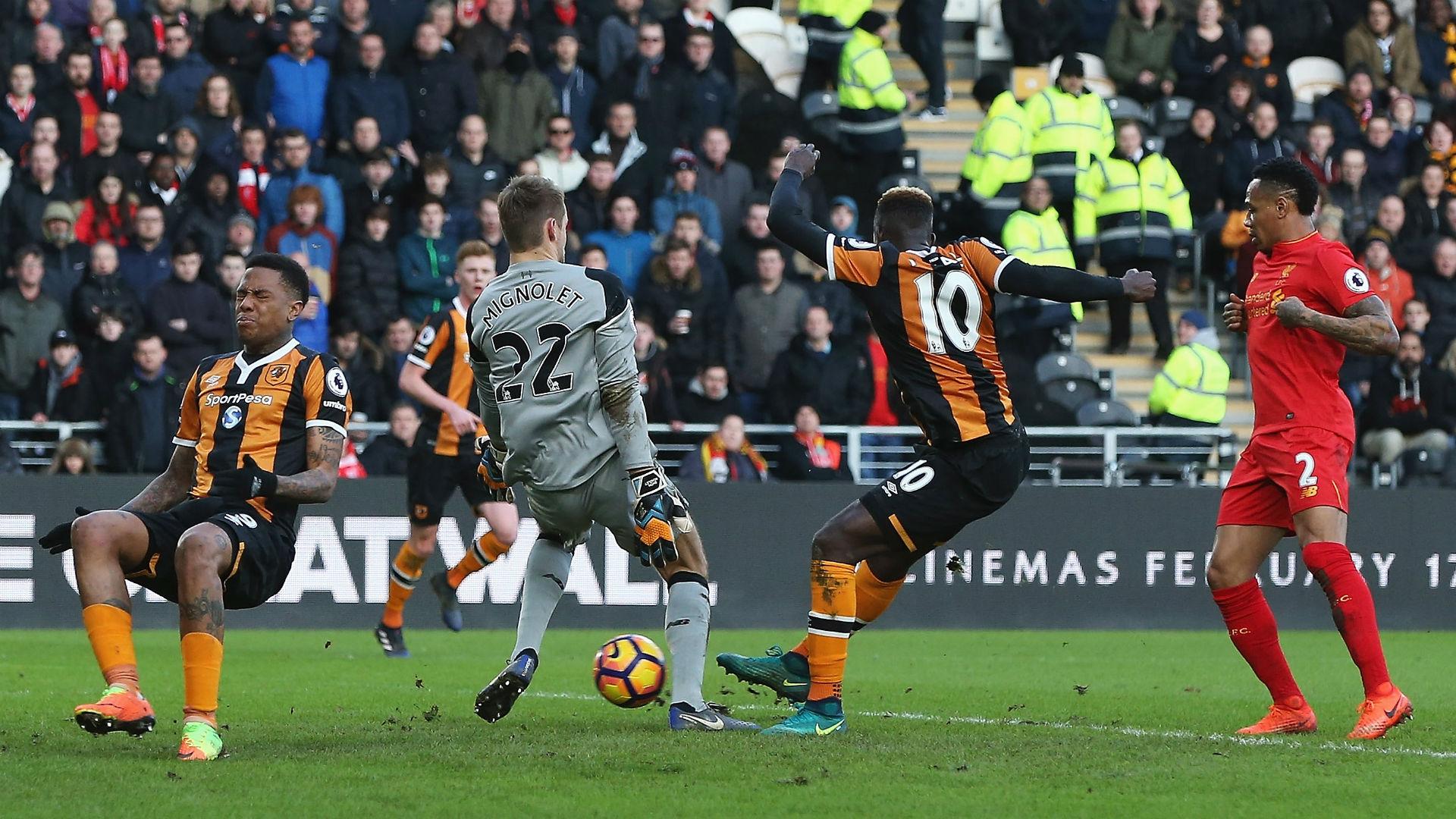 Alfred N'Diaye Premier League Hull City v Liverpool 040217