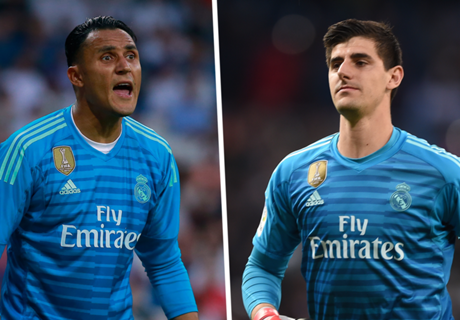 An upgrade on Navas? Courtois struggling to shine at Madrid