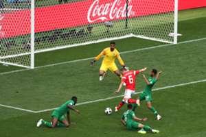 Denis Cheryshev's goal against Saudi Arabia