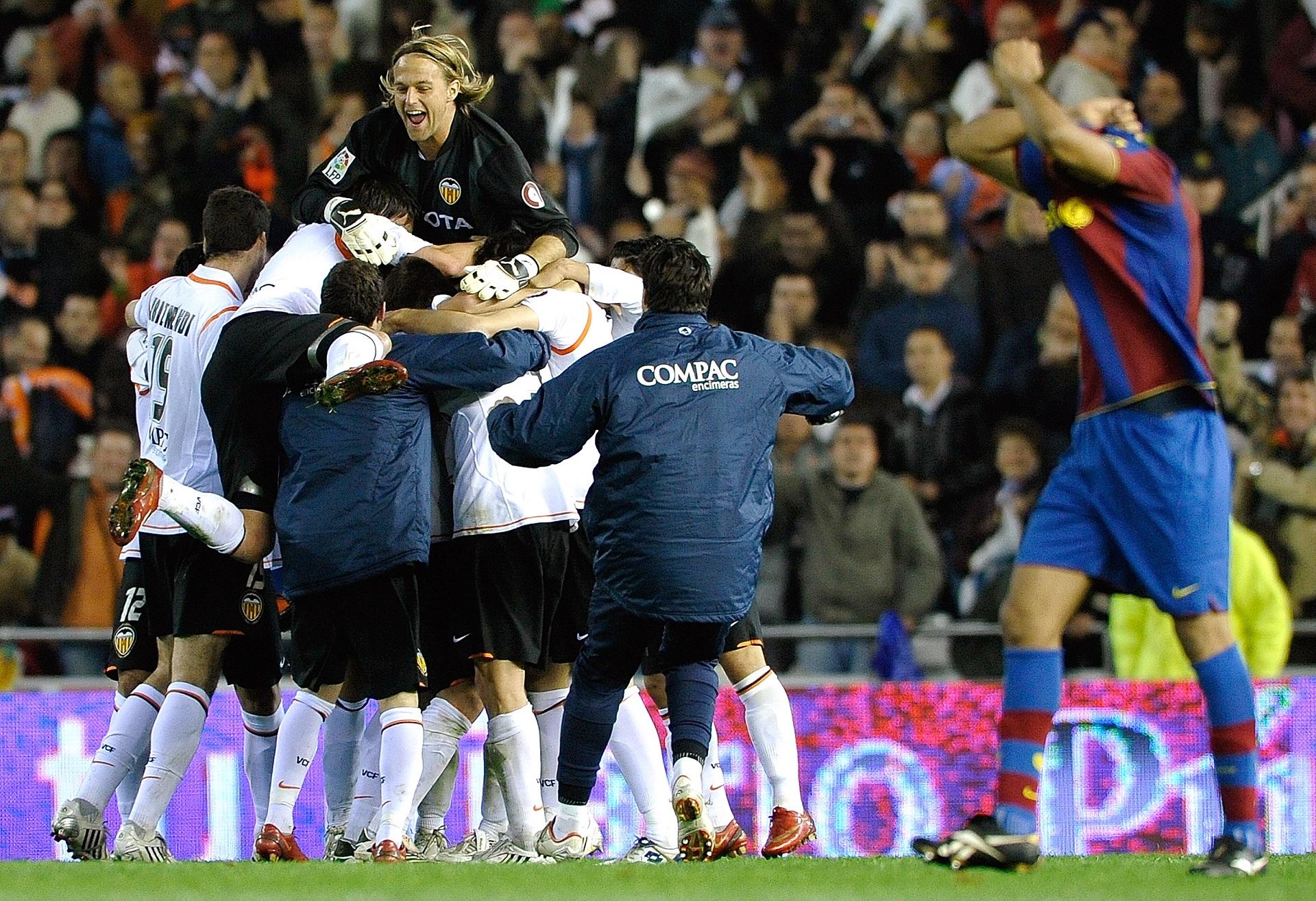 Taça do Rei: Barcelona-Valencia nas meias-finais
