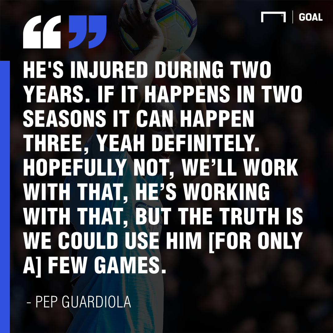 Pep quote Mendy