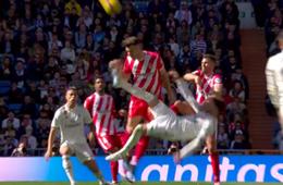 Roja a Sergio Ramos Real Madrid Girona