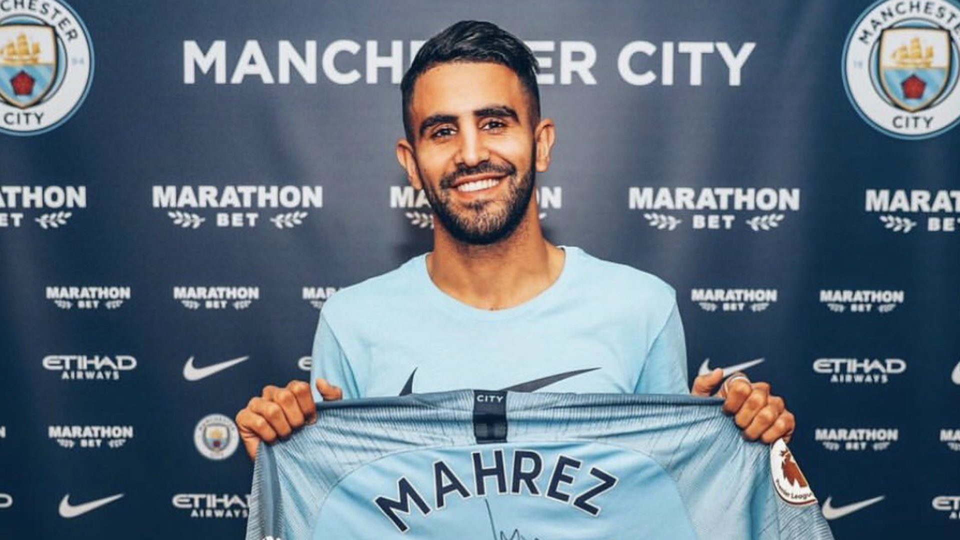 Mahrez insists he has joined Man City to fight for the big trophies