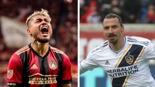 Josef Martinez Zlatan Ibrahimovic MLS Awards 12102018