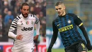 Higuain vs Icardi Juventus Inter Serie A