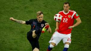 russia croatia - ivan rakitic artem dzyuba - world cup - 07072018