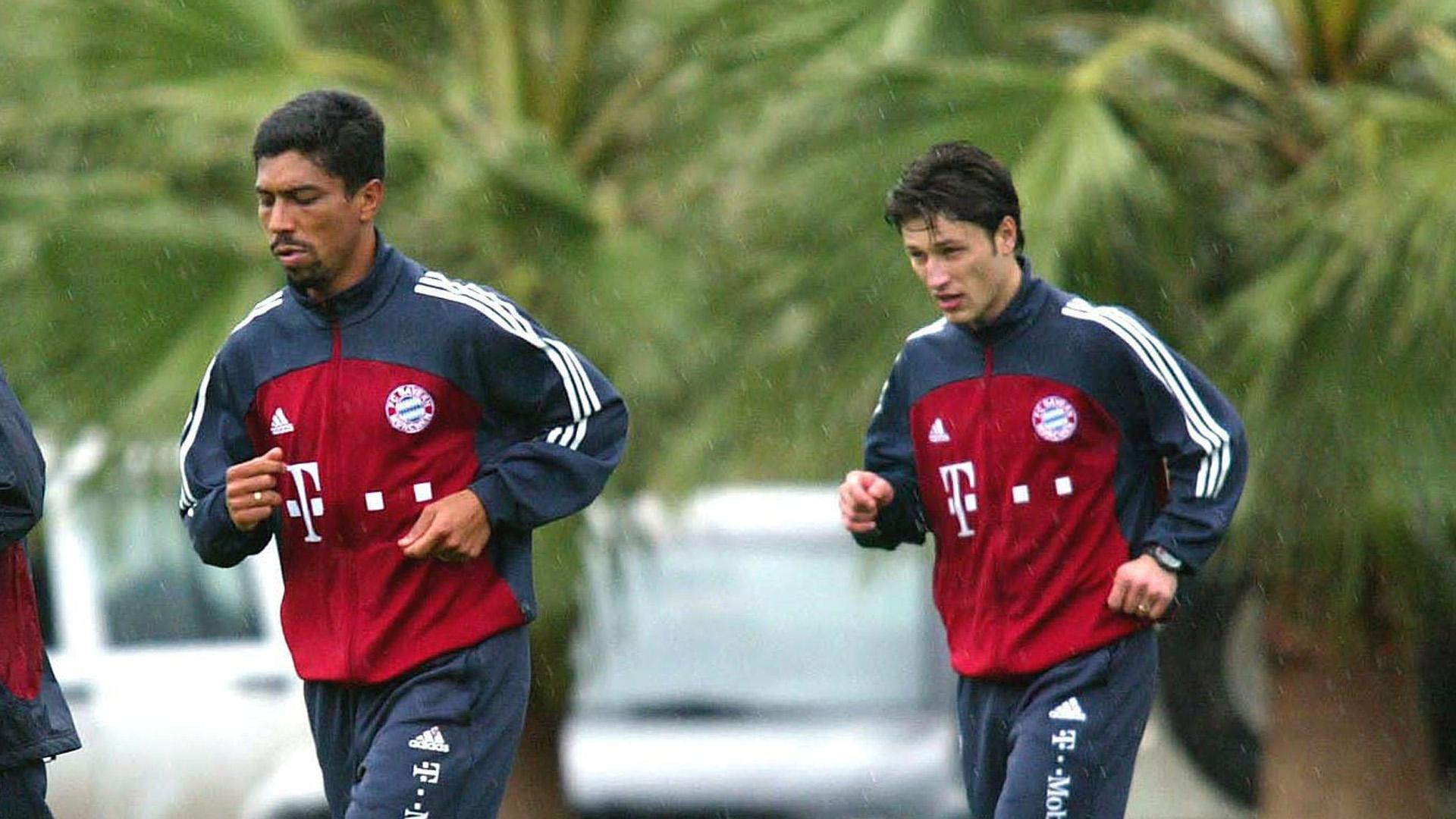 Giovane Elber Niko Kovac Bayern München