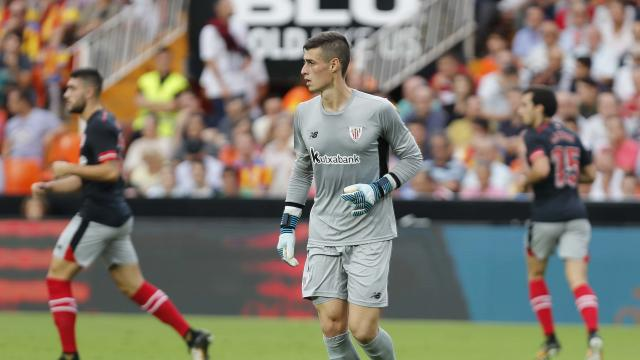 Kepa Valencia Athletic Club LaLiga 01102017