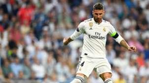 Sergio Ramos Real Madrid Roma UCL 19092018