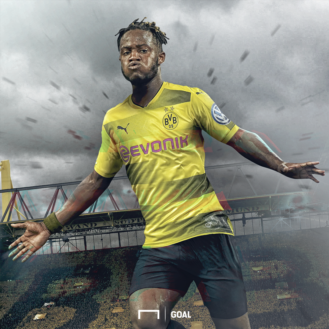 Batshuayi Dortmund Chelsea Goal graphique