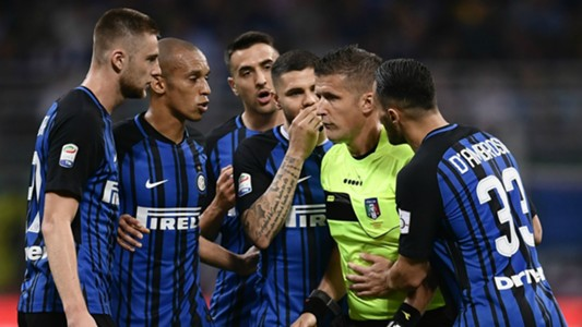 Daniele Orsato Inter Juventus Serie A 04272018