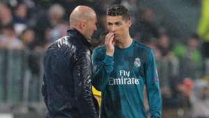 Zinedine Zidane Cristiano Ronaldo