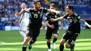 Sergio Kun Aguero Argentina Islandia Iceland World Cup 16062018