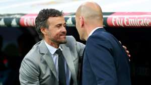Luis Enrique Zinedine Zidane Real Madrid Barcelona LaLiga 23042017